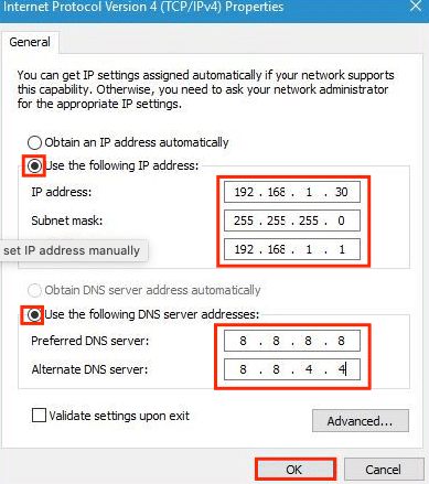wifi doesn't have a valid ip configuration after windows 10 upgrade